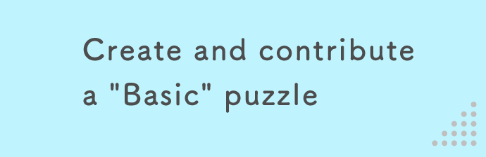 "Create and contribute a ""Basic"" puzzle"